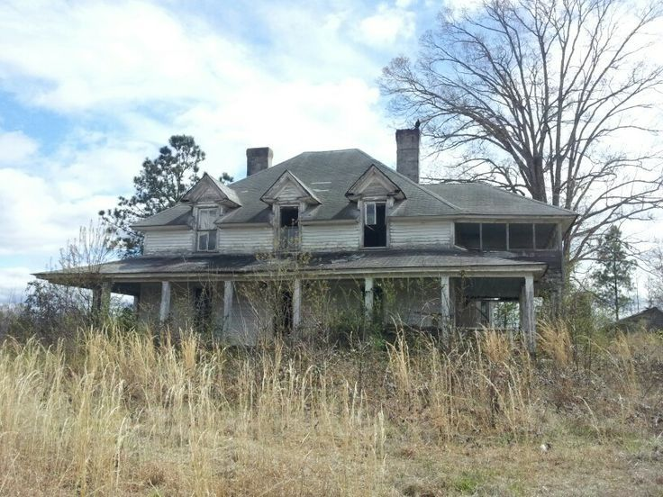 Abandoned Houses In South Carolina Rural South Carolina
