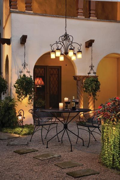 3 pebble patio for the home outdoor landscaping mexican patio rh pinterest com