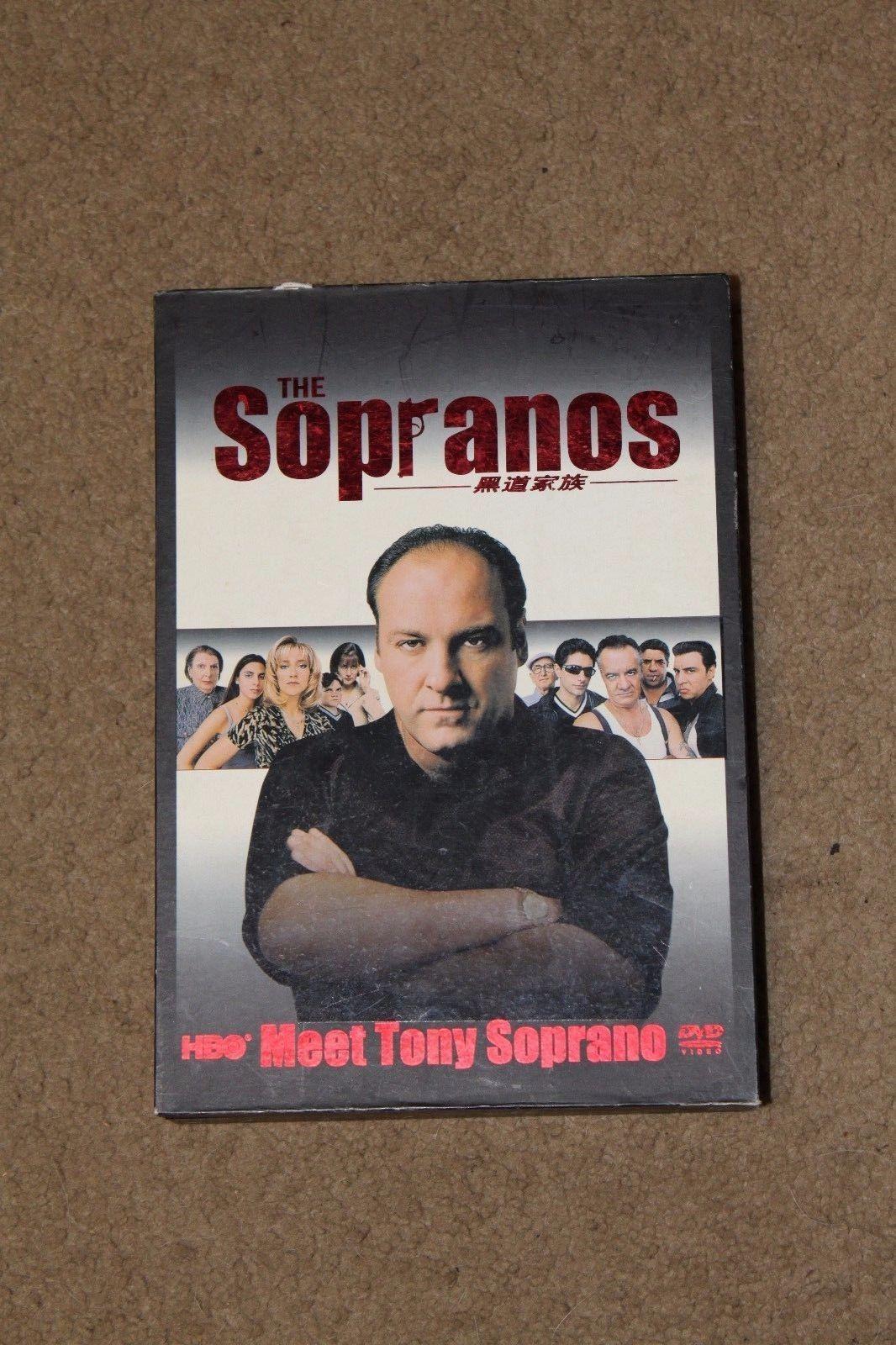 HBO The Sopranos Complete Series DVD Box Set Seasons 1