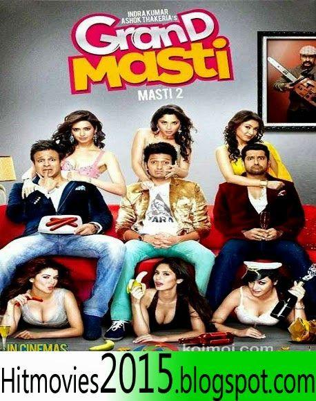 Hit Movies 2015 Grand Masti 2013 Hd Dvdrip 350mb Esub Grand Masti