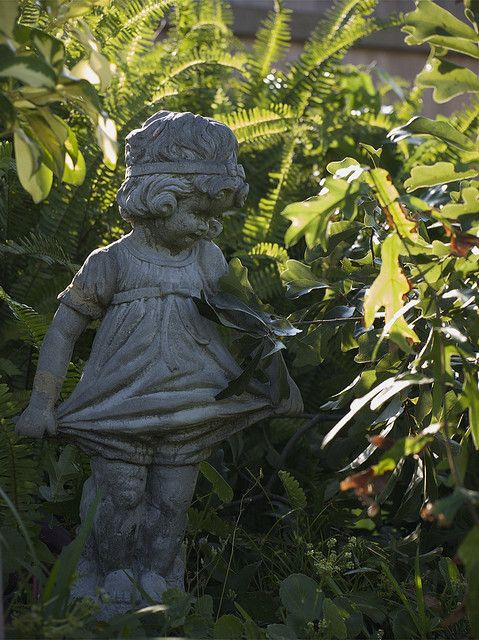 Little Girl Garden Statue Creation Is A Wonderful Addition To Any Garden!  Click For More