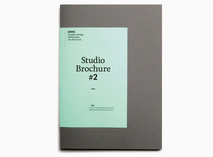 Blanka Studio Brochure   Grafica    Brochures And