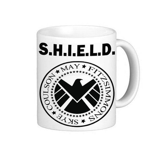 Agents of SHIELD Mug. Marvel. Ramones. by TheStitchyNook on Etsy