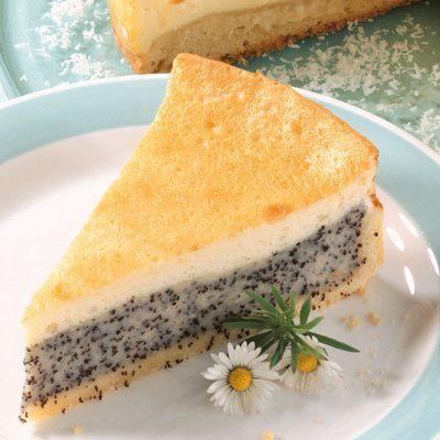 Mohn Schmand Torte Rezept In 2019 Kuchen