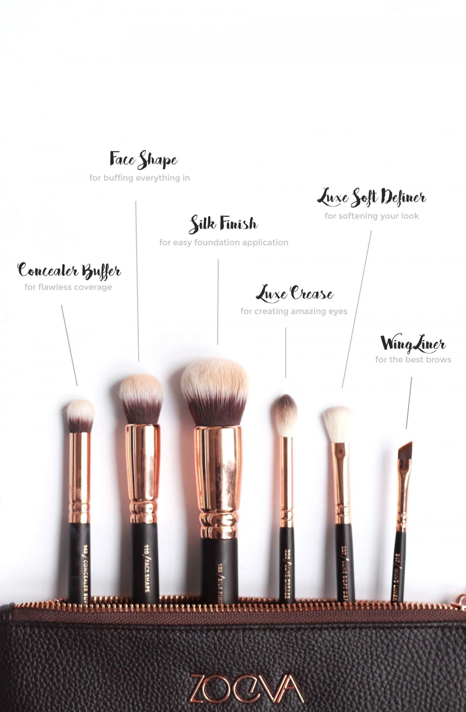 e1f5da598fcdeb My Favourite Zoeva Rose Gold Makeup Brushes | Brushes | Zoeva ...