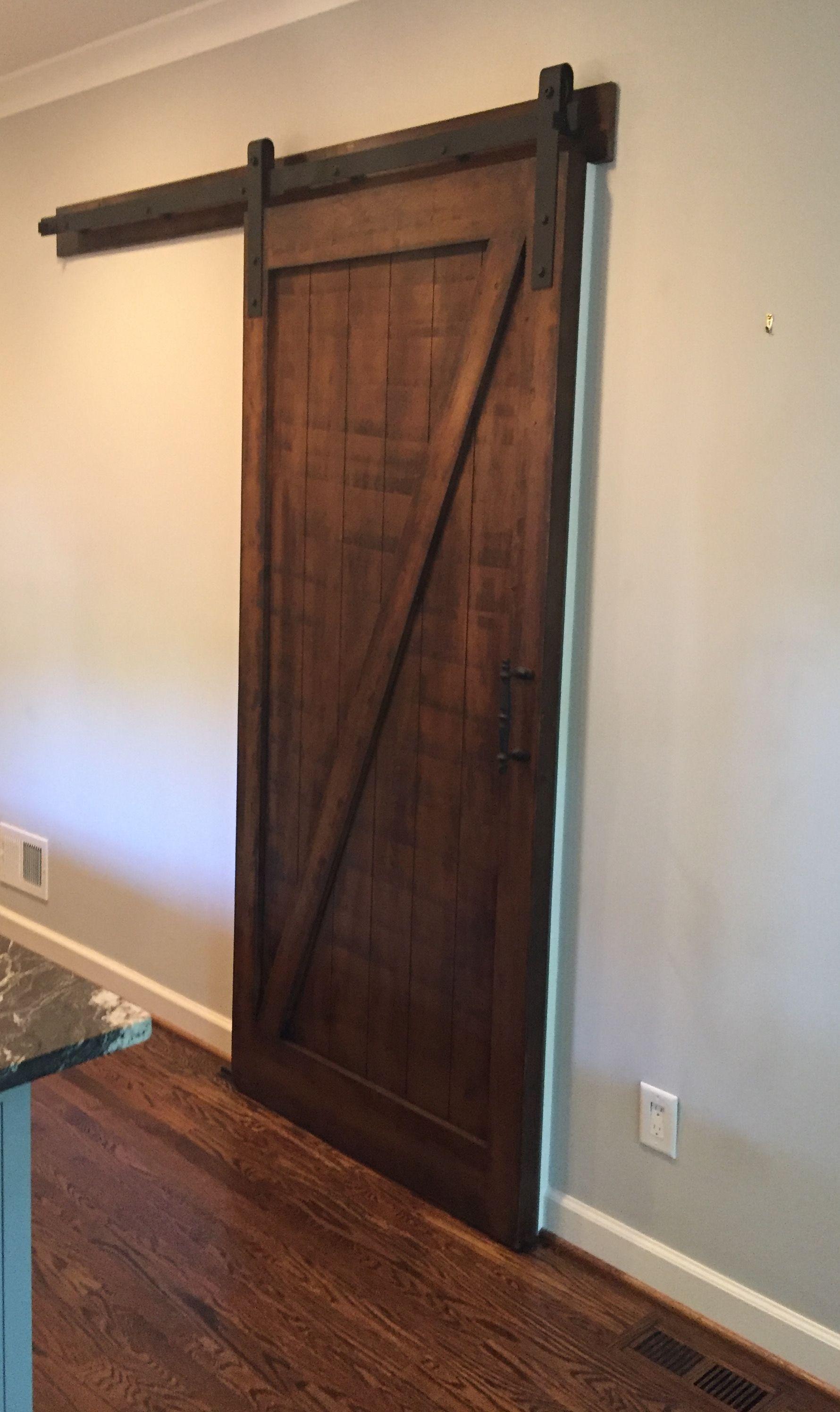 Custom Pine Single Barn Door w Z