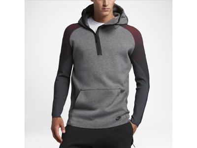 Sweat à capuche demi-zippé Nike Sportswear Tech Fleece pour Homme