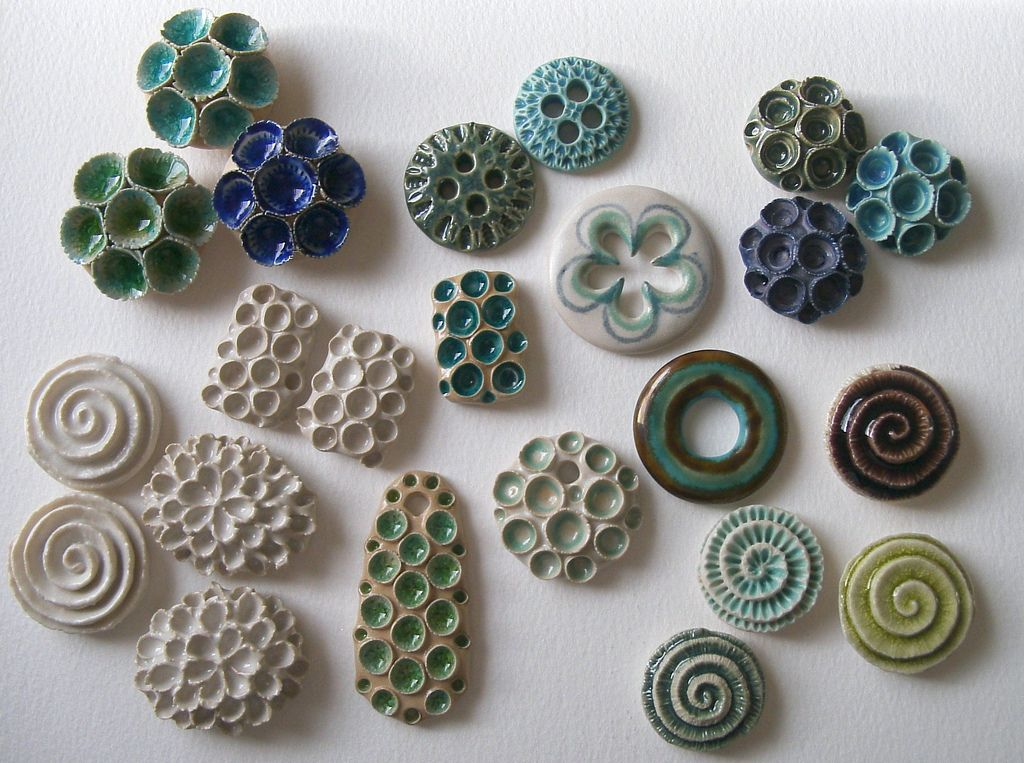 some with glass, some only have a white glaze....these will have glass added at earthenware temperature. Some will have lustres added in a seperate firing
