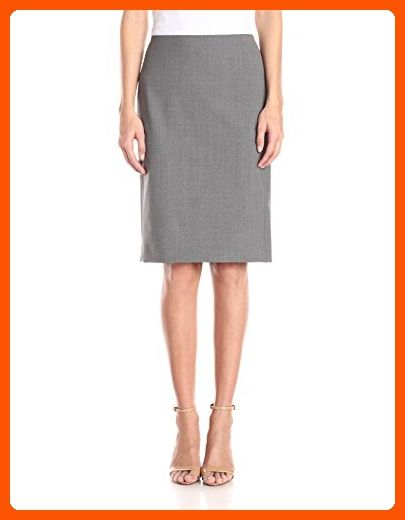 c55f3d122 Theory Women's Pencil Edition Skirt, Light Grey, 8 - All about women  (*Amazon Partner-Link)