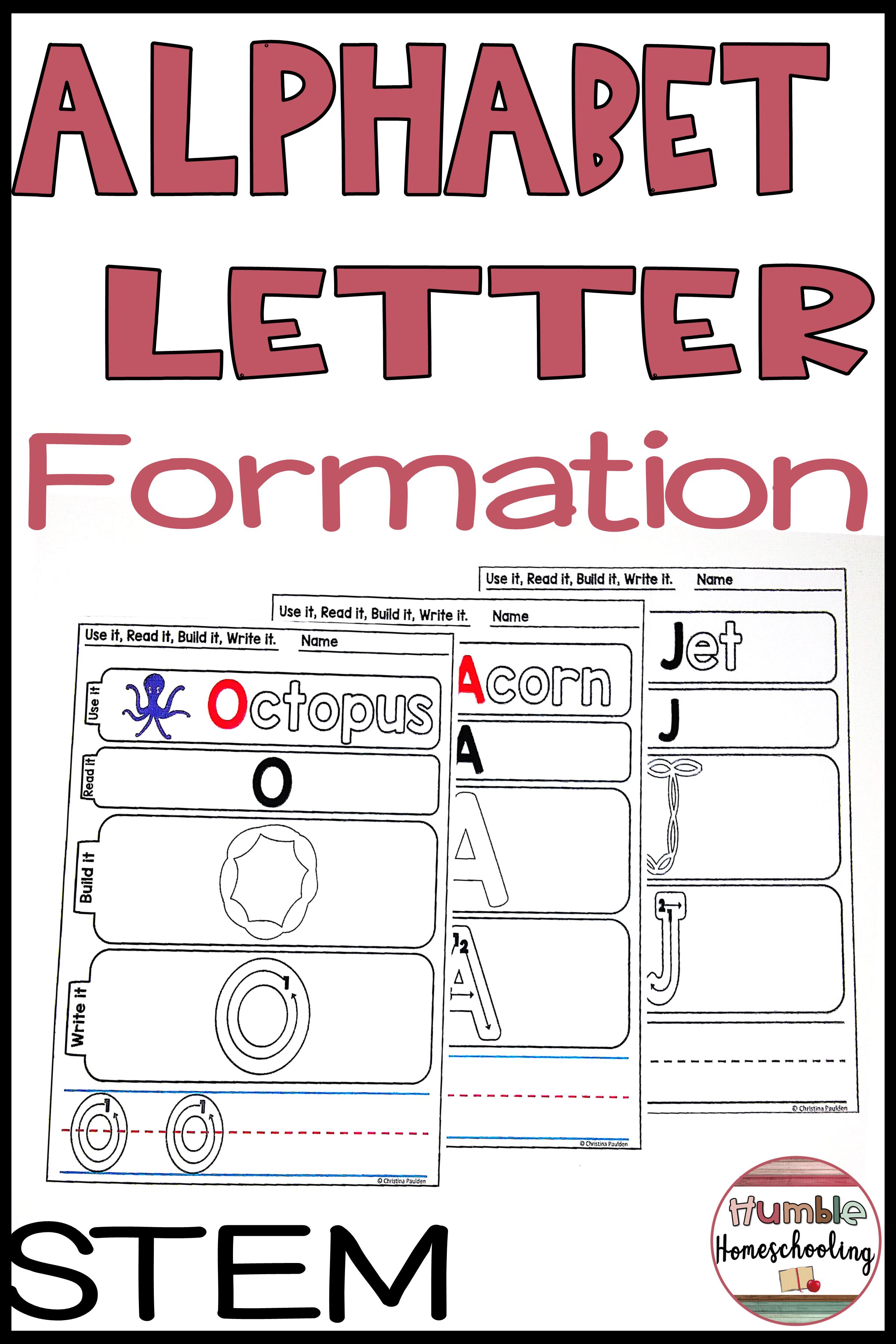 Alphabet Mats Uppercase