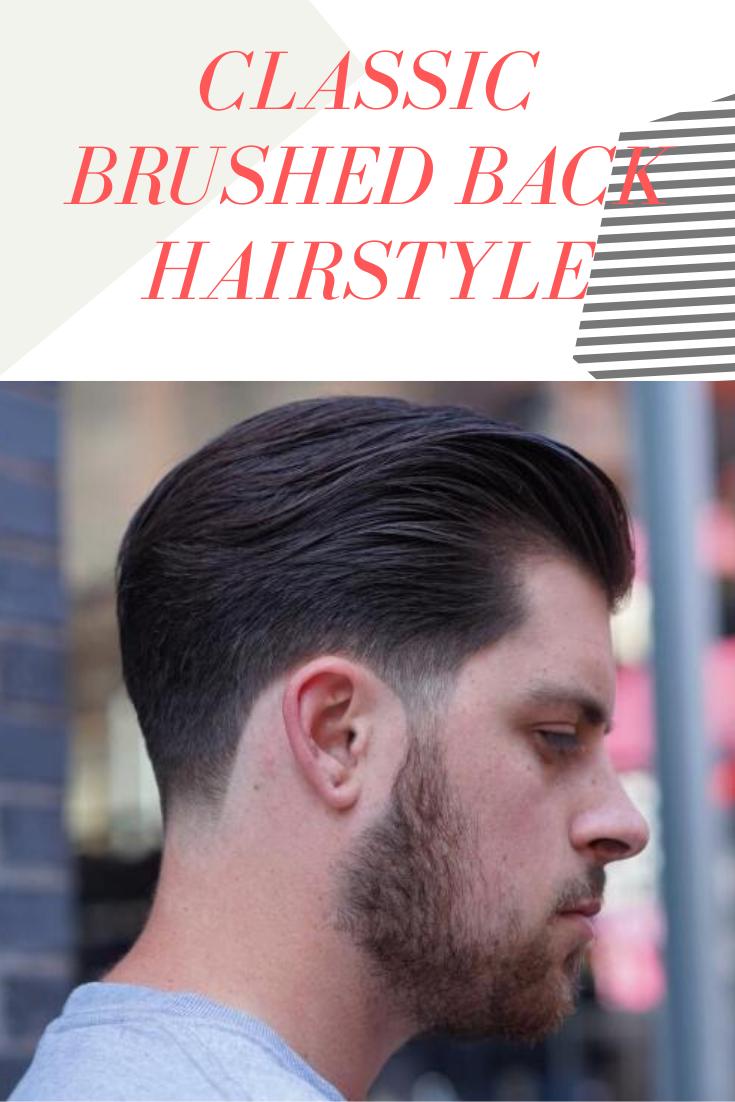 32+ Mens brushed back hair trends