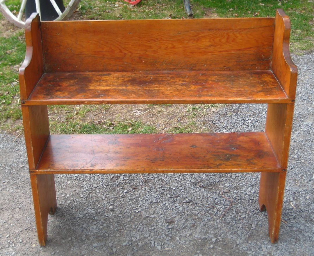 Early Bucket Bench Prim In 2019 Furniture Antique