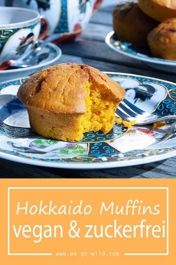Küribs Muffins vegan mit Hokkaido #pumpkinmuffins