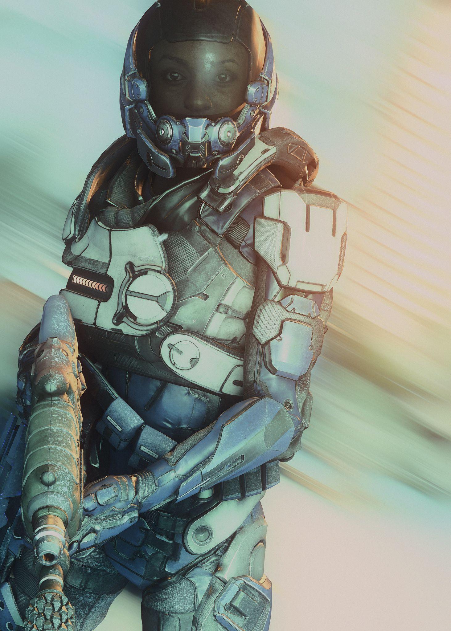 Cyberpunk Concept Art Sci Fi Soldier