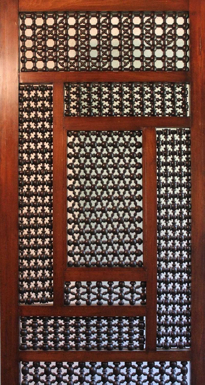 Authentic egyptian furniture - Egyptian Privacy Screen Moorish Islamic Interest