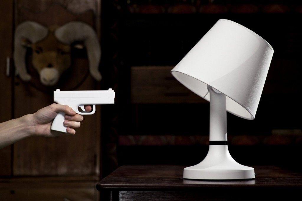 Bang! Desk Lamp From bitplay Inc   Desk lamp, Bangs and Desks