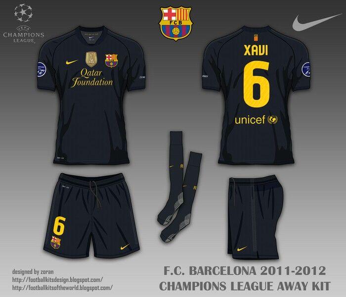 best loved c28c2 aeb4e Barcelona away kit for 2011-12.   2010s Football   Football ...