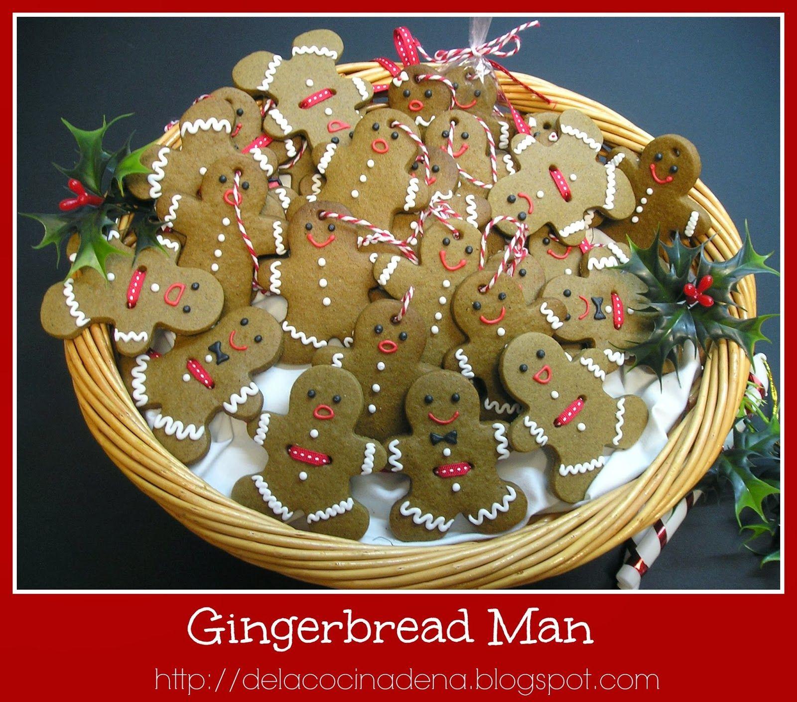 Gingerbread Man (Galletas de Jengibre)