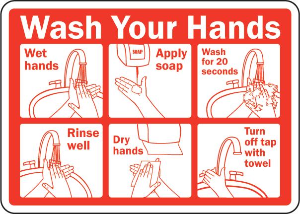 Printable Hand Washing Signs For Kids Hand Washing Poster Hand Washing Station Wash Hands Sign