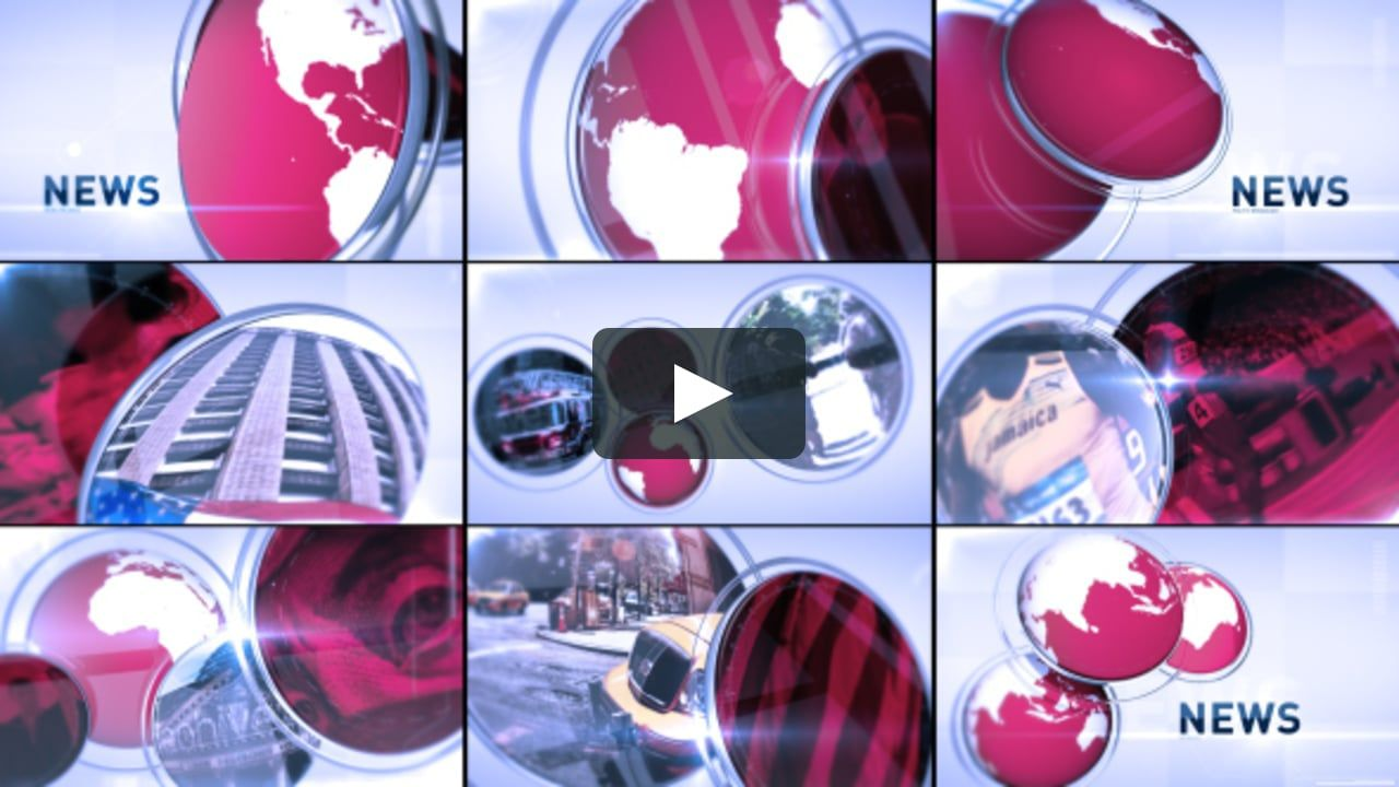 animation #aftereffects breaking news, Broadcast News Package