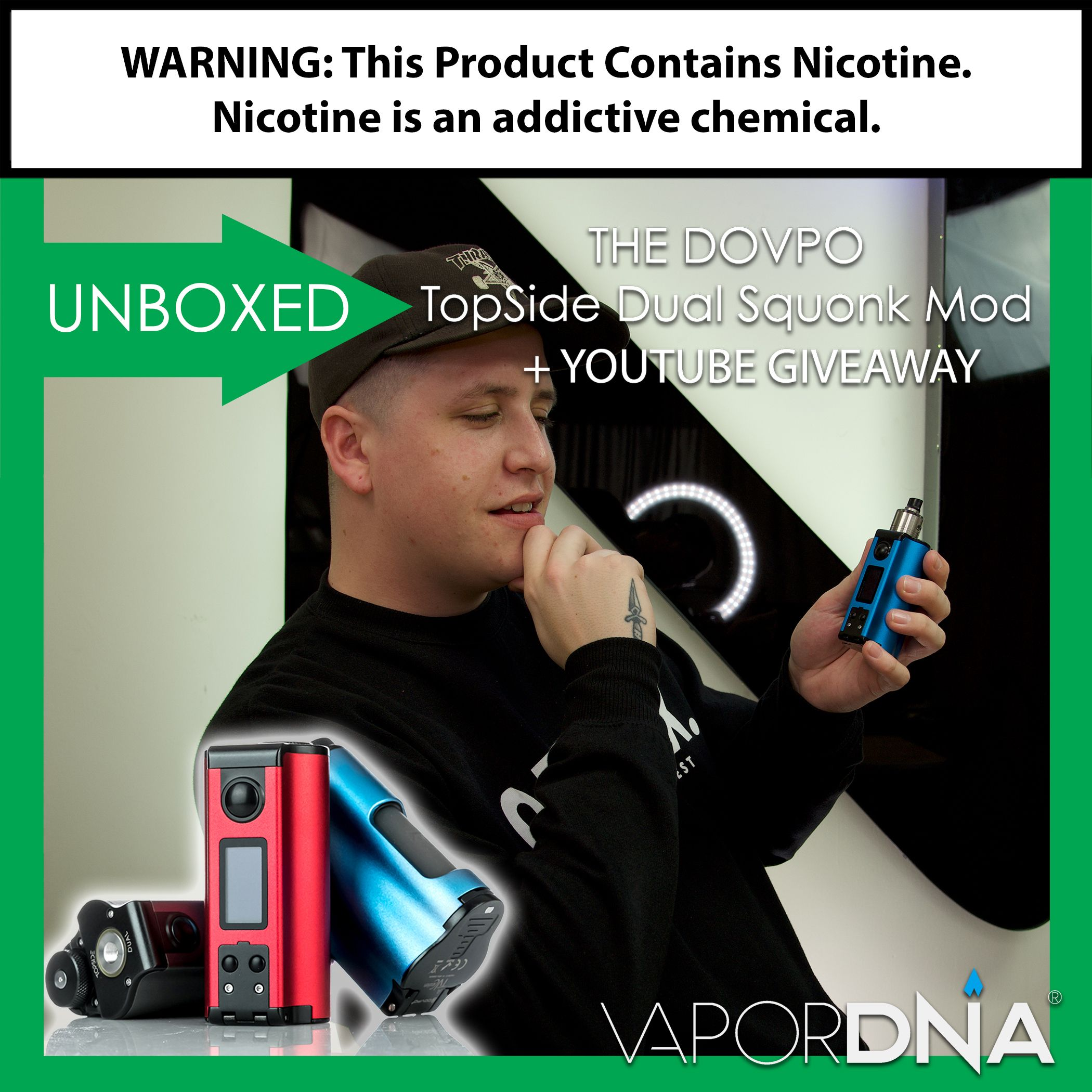 UNBOXED with VaporDNA!!! This Episode We Open Up The DOVPO