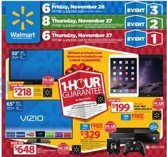 Walmart Black Friday Deals 2014 :  Check it out here!!