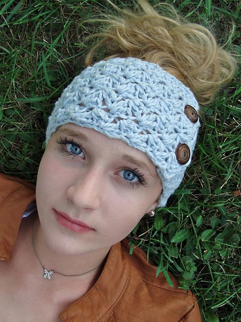 Janes Tangled Headwrap Pattern By Sara Freisberg Tangled Crochet