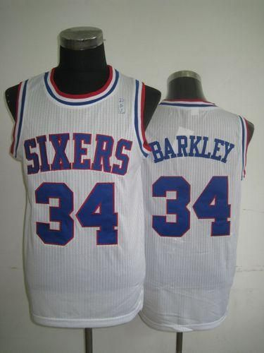 893369e427f0 ... jersey 8df5d ebc19  aliexpress 76ers 34 charles barkley white throwback  embroidered nba jersey21.50usd fc659 37184