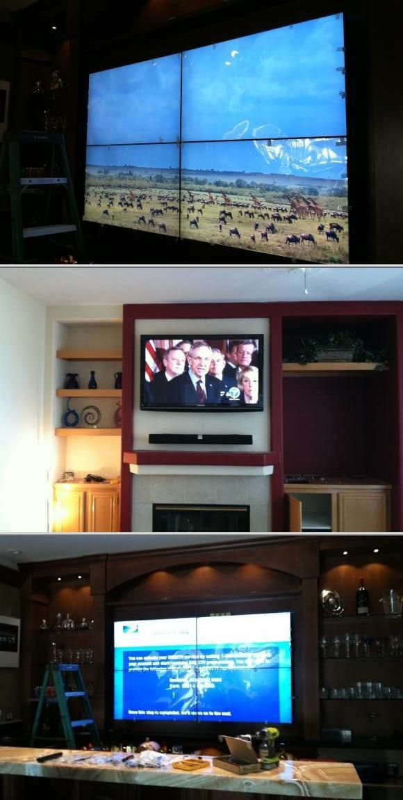 Home Theater Electrical Wiring Lcd And Plasma Tv Installation - Wire ...