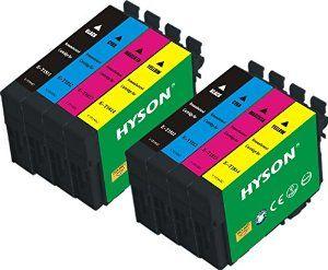 Hyson Remanufactured Ink Cartridge T1811 T1812 T1813 1814 B C M Y