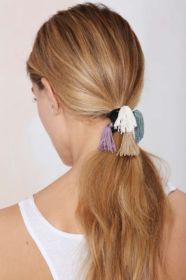 12 #LazyGirl Hair Accessories for the Easiest Hairstyles Ever via Brit + Co.