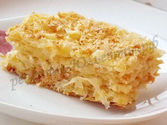 52Наполеон торт простой рецепты