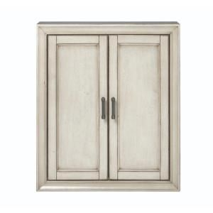 home decorators collection hazelton 25 in w wall cabinet in antique rh pinterest com