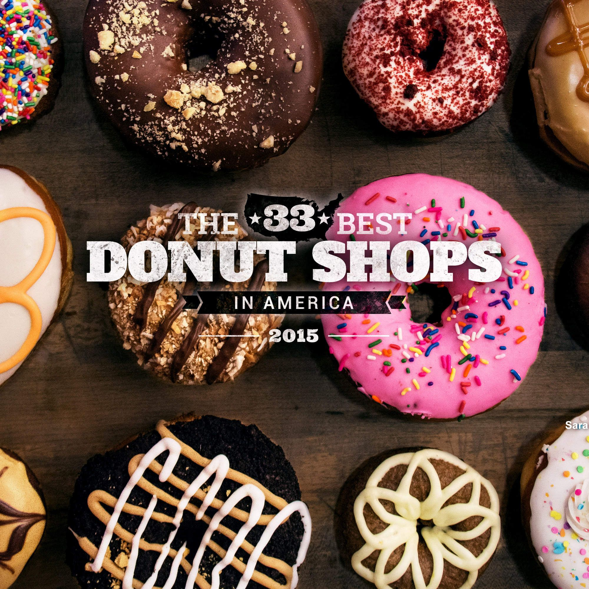 The 31 Best Donut Shops in America | Donut shop, Donuts, Food