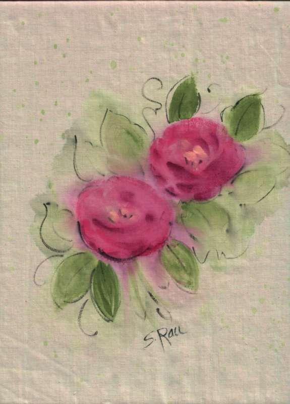 Painted Muslin Watercolor Fabric