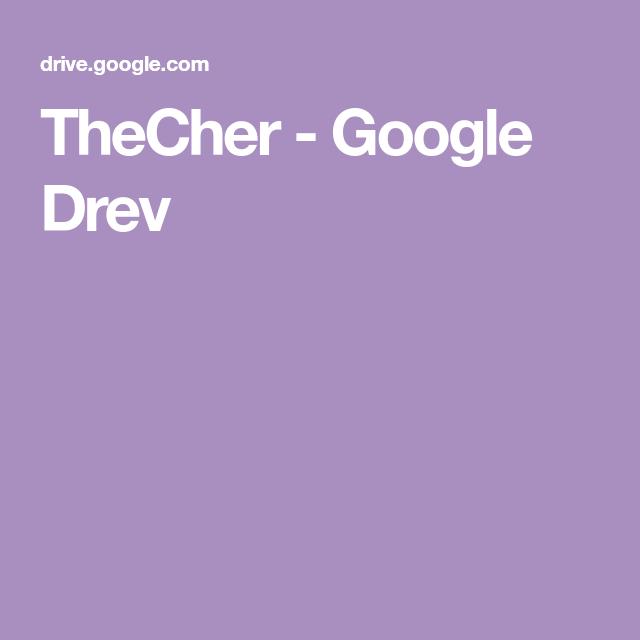Thecher Google Drev Med Billeder