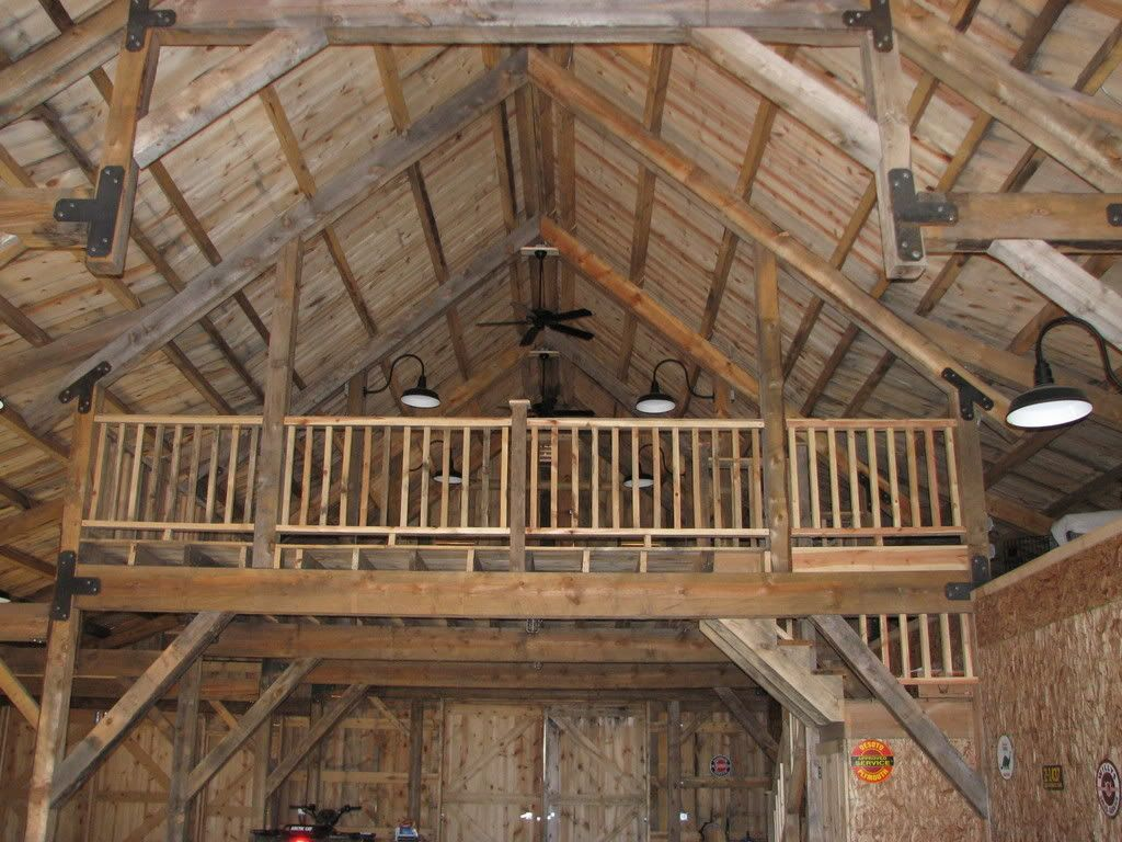 how to build a pole barn part 8
