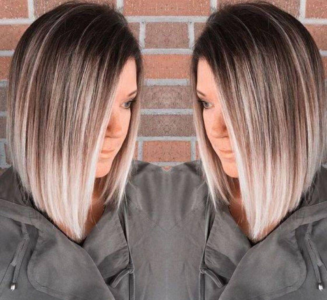 Ballayage Blond dedans pinmacee danielle bailey on hair | pinterest | hair coloring