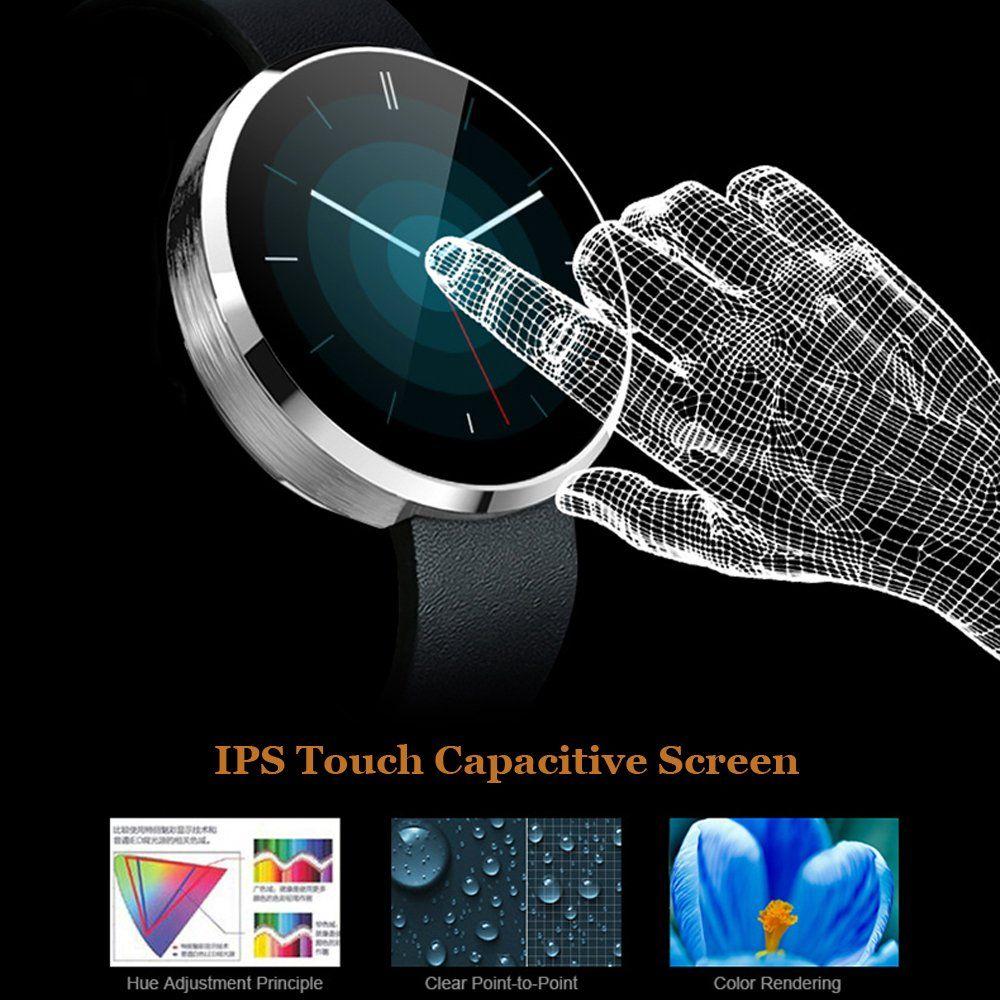 Bluetooth smart watch morefine wearable fitness activity