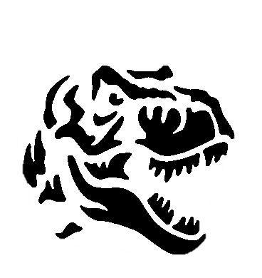 t rex pumpkin template  Carving #Jurassic #Park #Pattern #pumpkin #TRex #World in ...