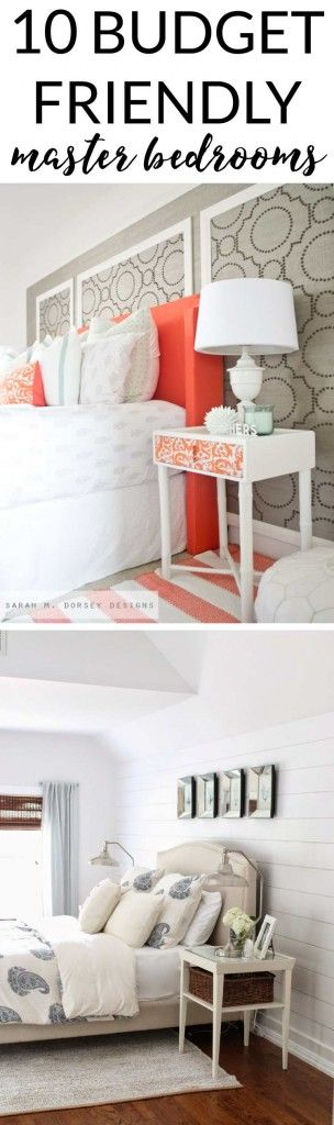 Budget Friendly Master Bedroom Makeover Inspiration Blogger Home Projects We Love Maste