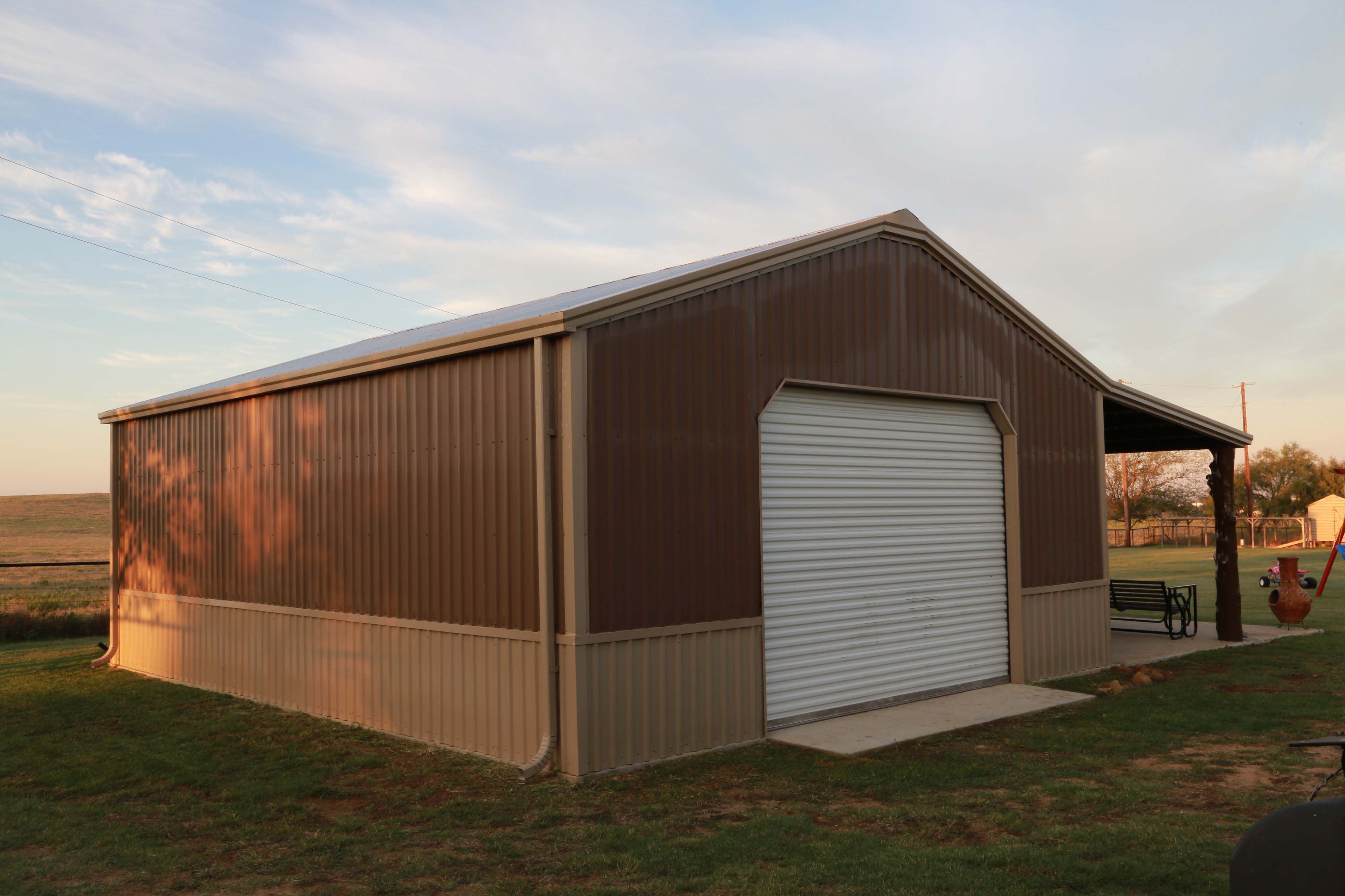 Steel Building Gallery - Category: Custom Building_33 - Image: Choice_33_1  | Mueller Inc | Steel buildings, Metal buildings, Architecture bathroom