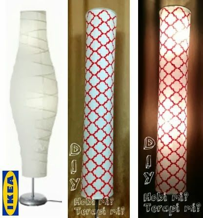 Hacked Dudero Fabric Shade Diy Floor Lamp Floor Lamp Makeover