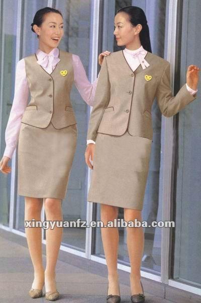 morna e candida  banco uniforme senhora conjunto uniforme terno-Uniformes para…