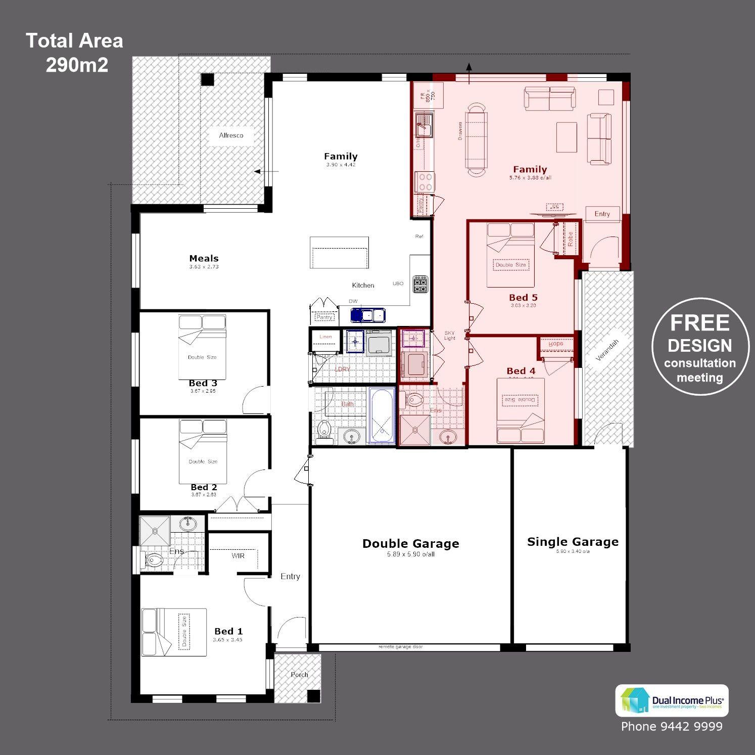 Allresco cloverdale   home design floor plans, house plans, duplex design