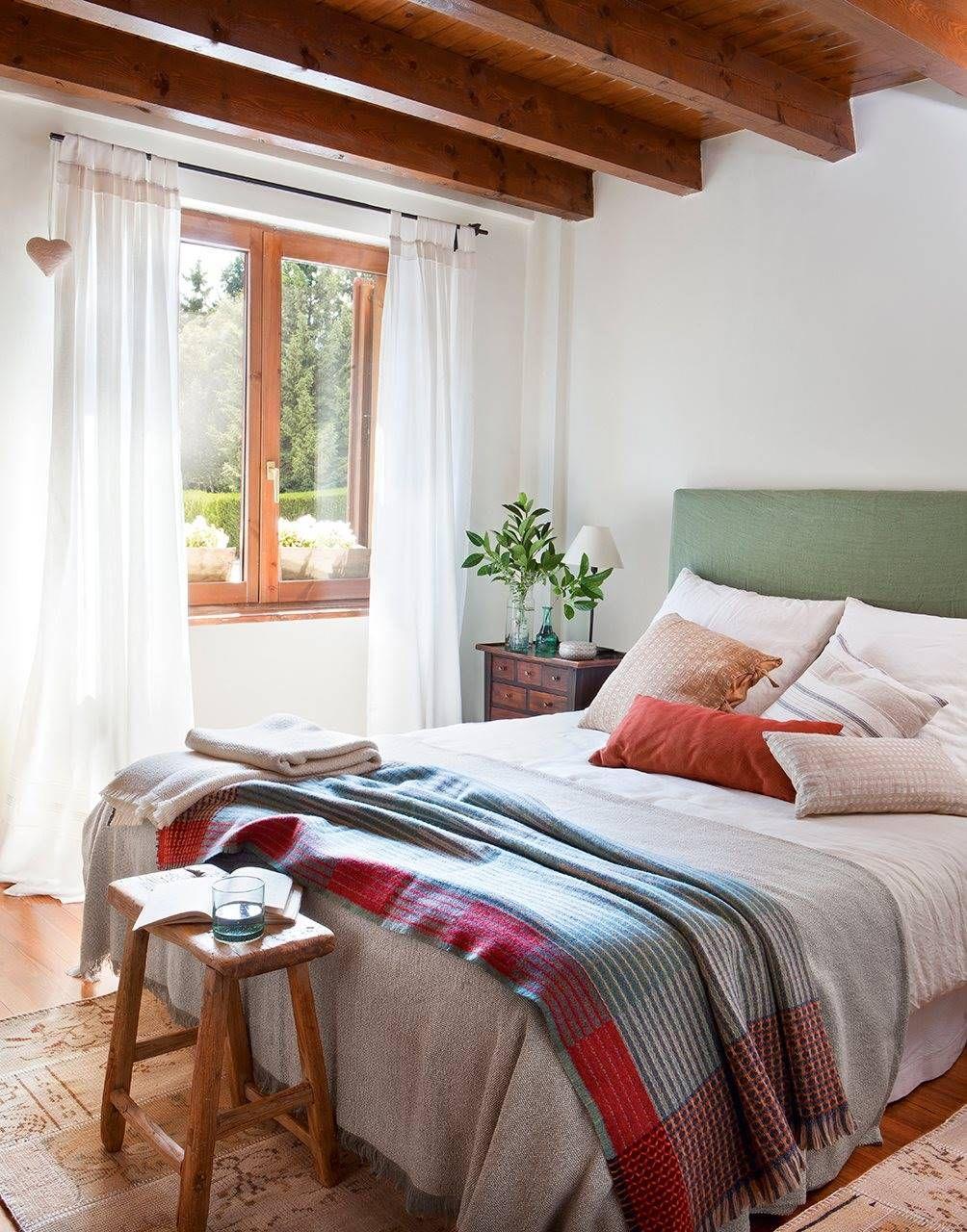 Dormitorio Matrimonio Rustico Blanco : A modo de terapia en 2019 home decoracion de dormitorio