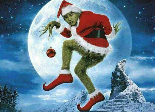 memes de bts  fondo de pantalla navidad grinch navidad