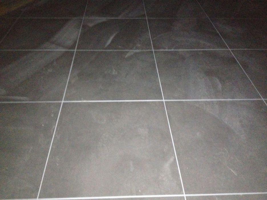Carrelage Gris Clair Effet Beton Tile Floor Bianco