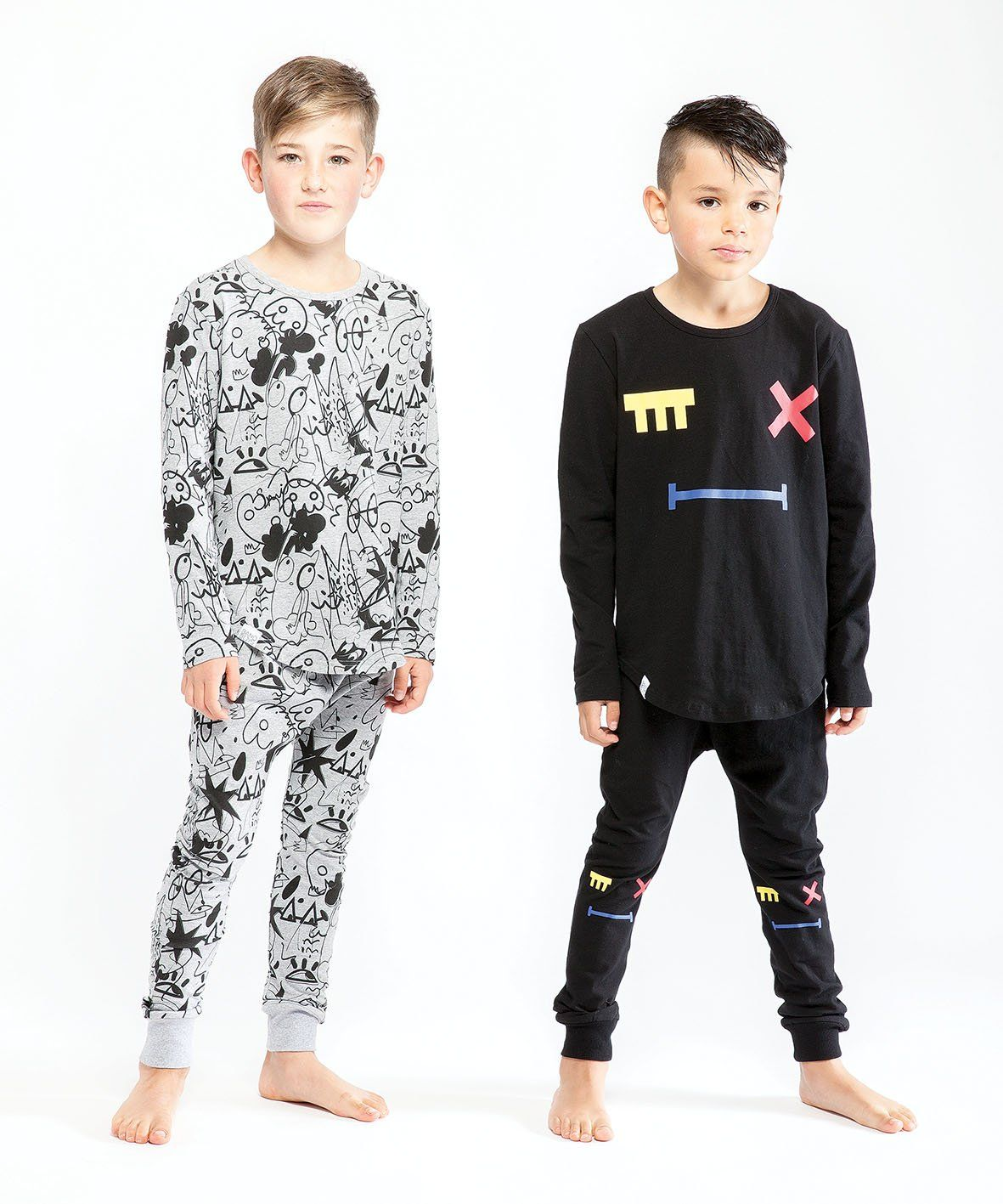 9eaefad2e1c9 Band of Boys Close Your Eyes Winter PJ s - Threads for Boys ...