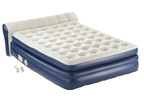 Aerobed Premier Bed With Headboard Headboards For Beds Twin Air Mattress Air Matress